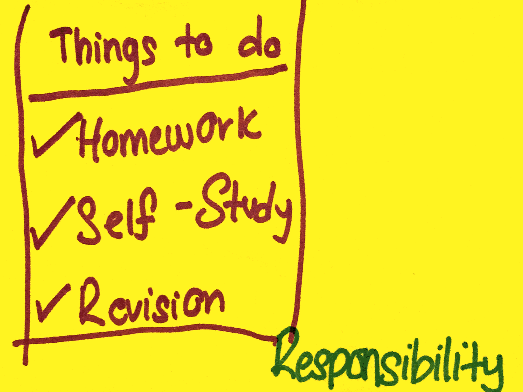 Responsibility Strengthsfinder Singapore Homework To-Do