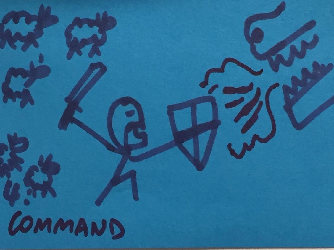Command Strengthsfinder Warrior Courageous