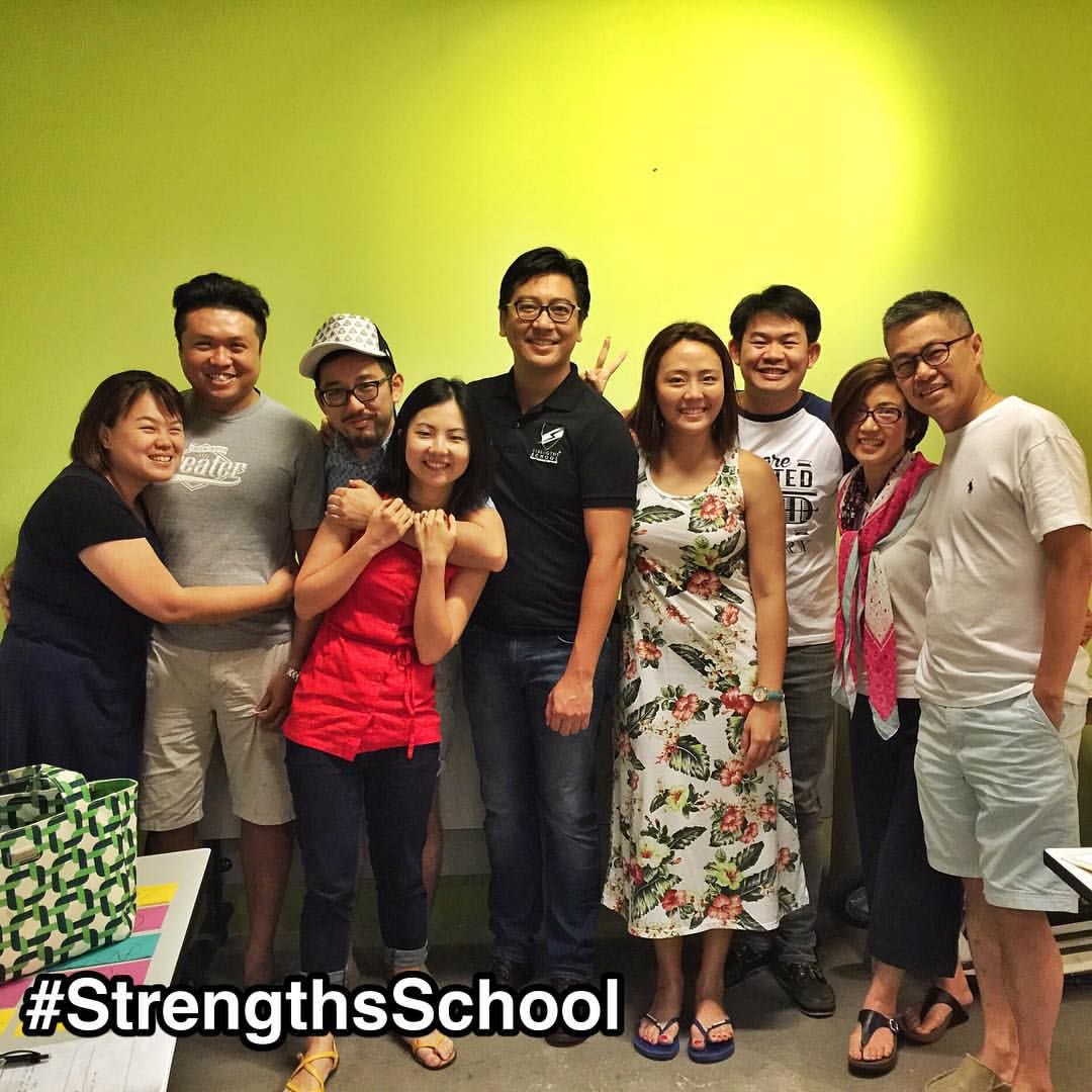 StrengthsFinder Couple Workshop on a hot Singapore Saturday afternoon