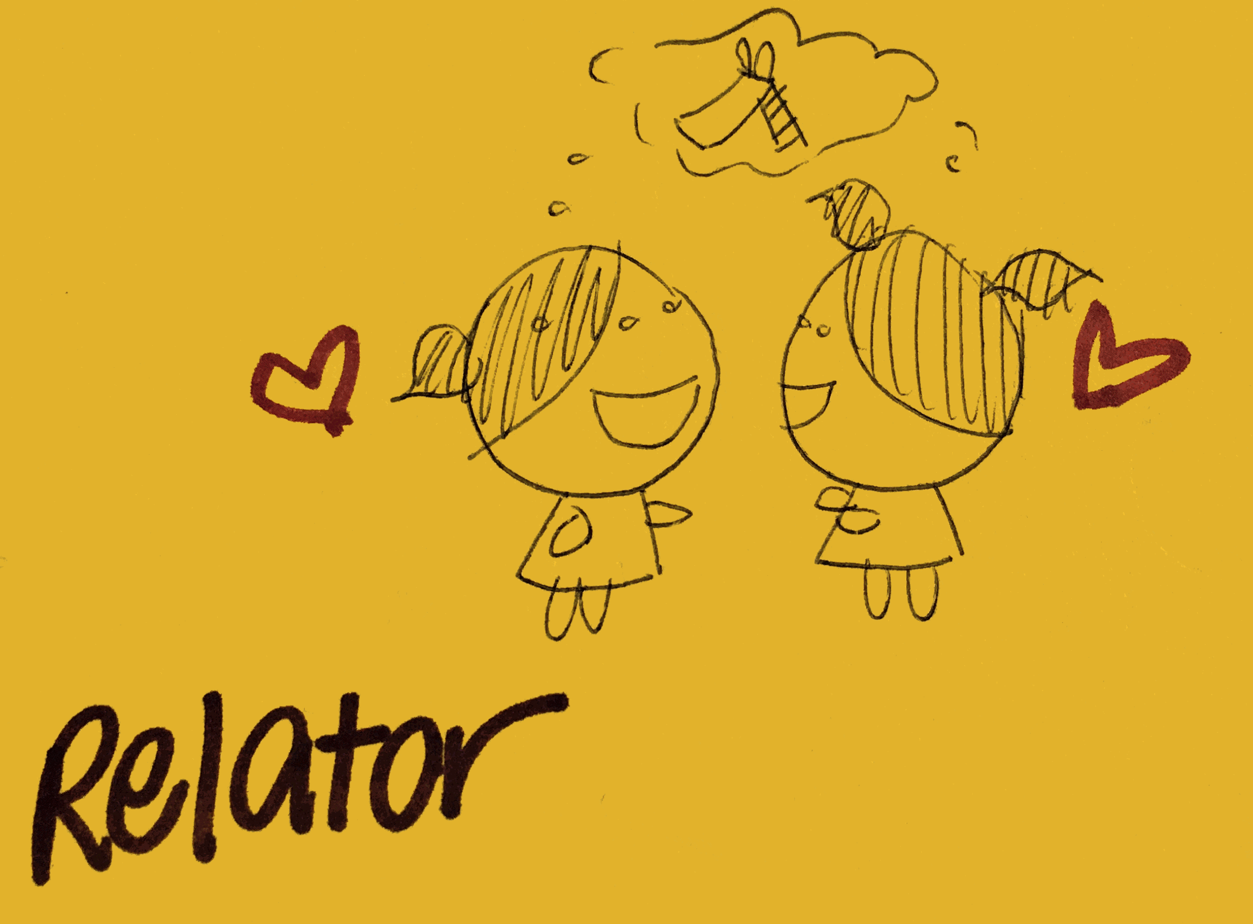 Relator Strengthsfinder Happy Two Friends
