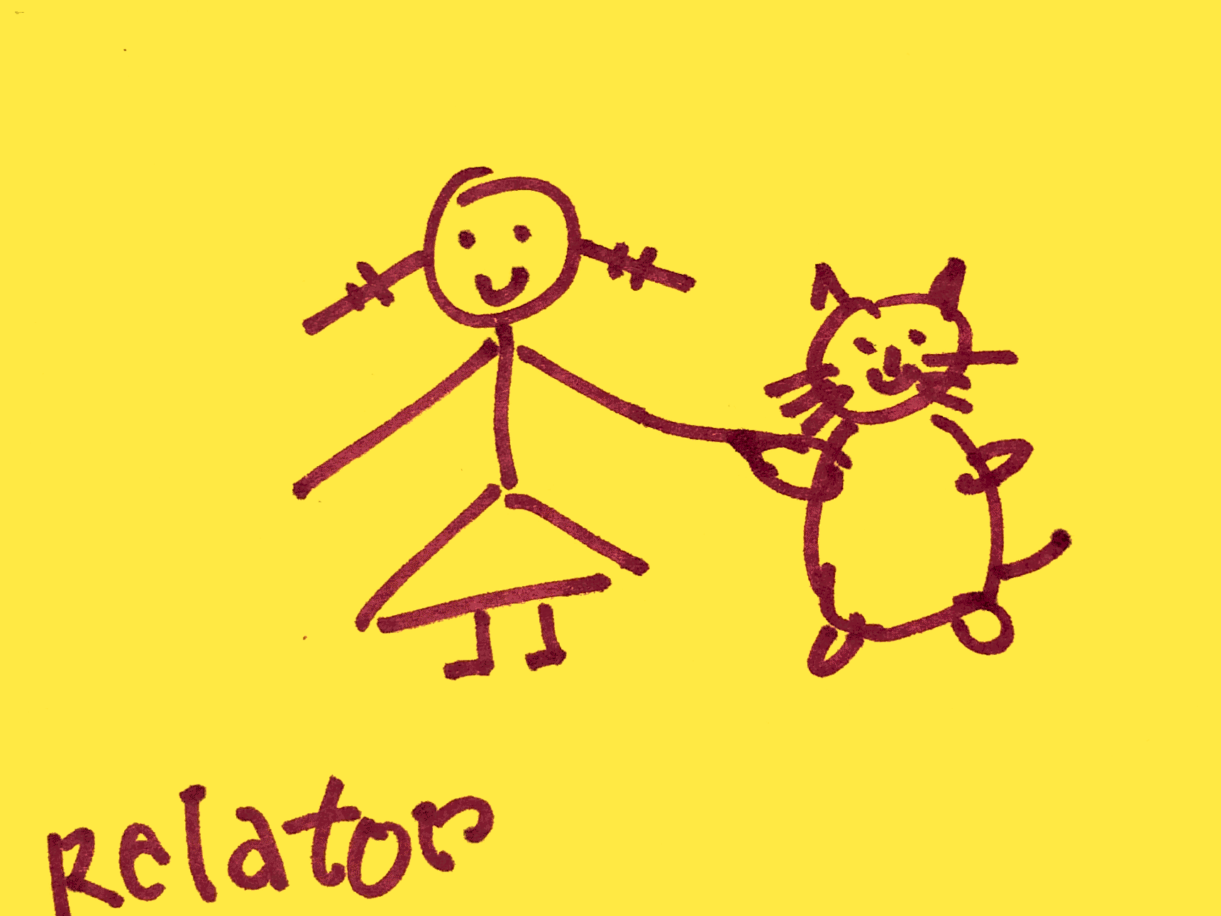 Relator Strengthsfinder Girl and Big Big Cat Friends