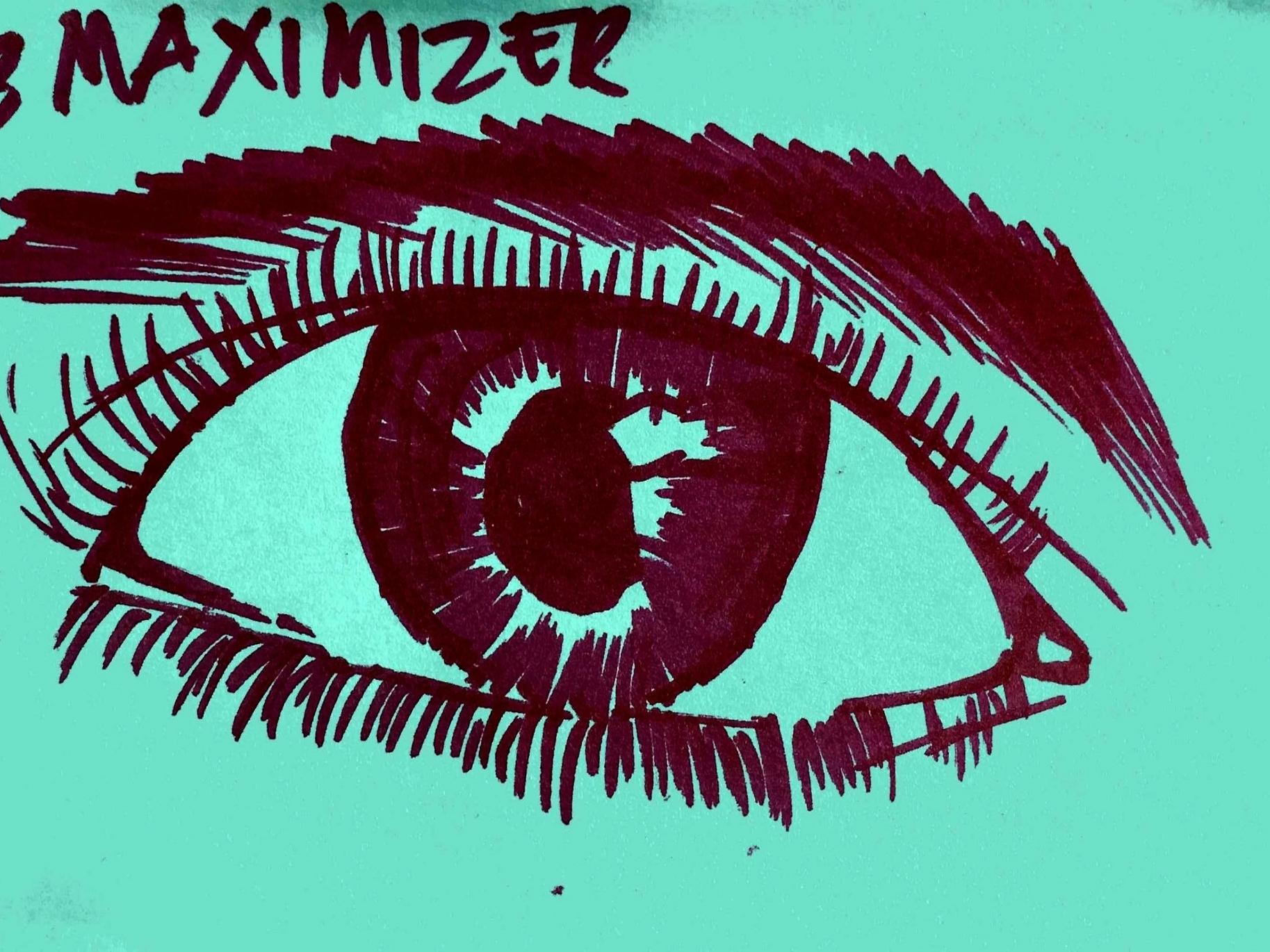 Maximizer Strengthsfinder Eye