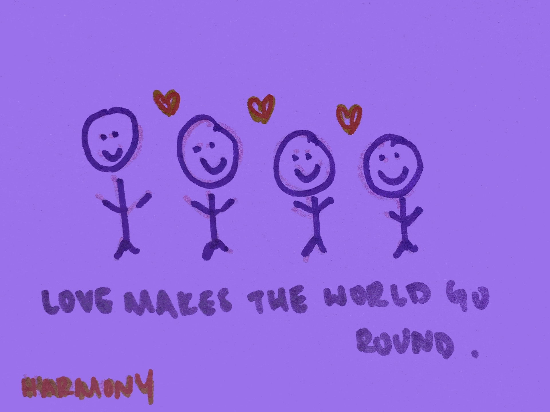 Harmony Strengthsfinder Love Makes World Round