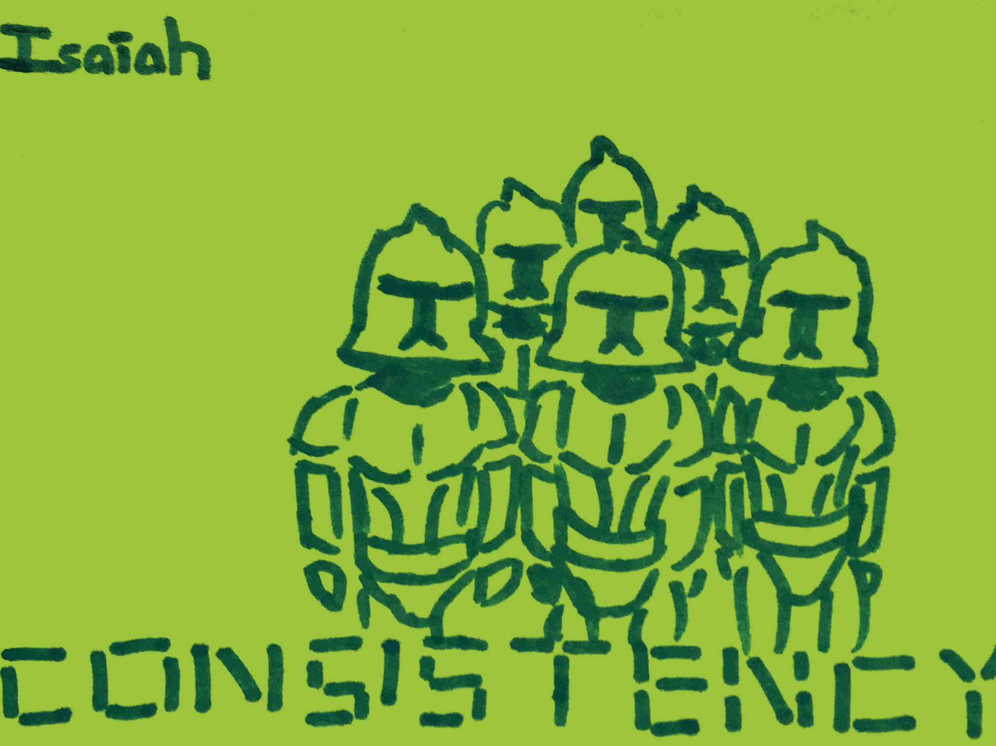 Consistency Strengthsfinder Stoic Soldiers
