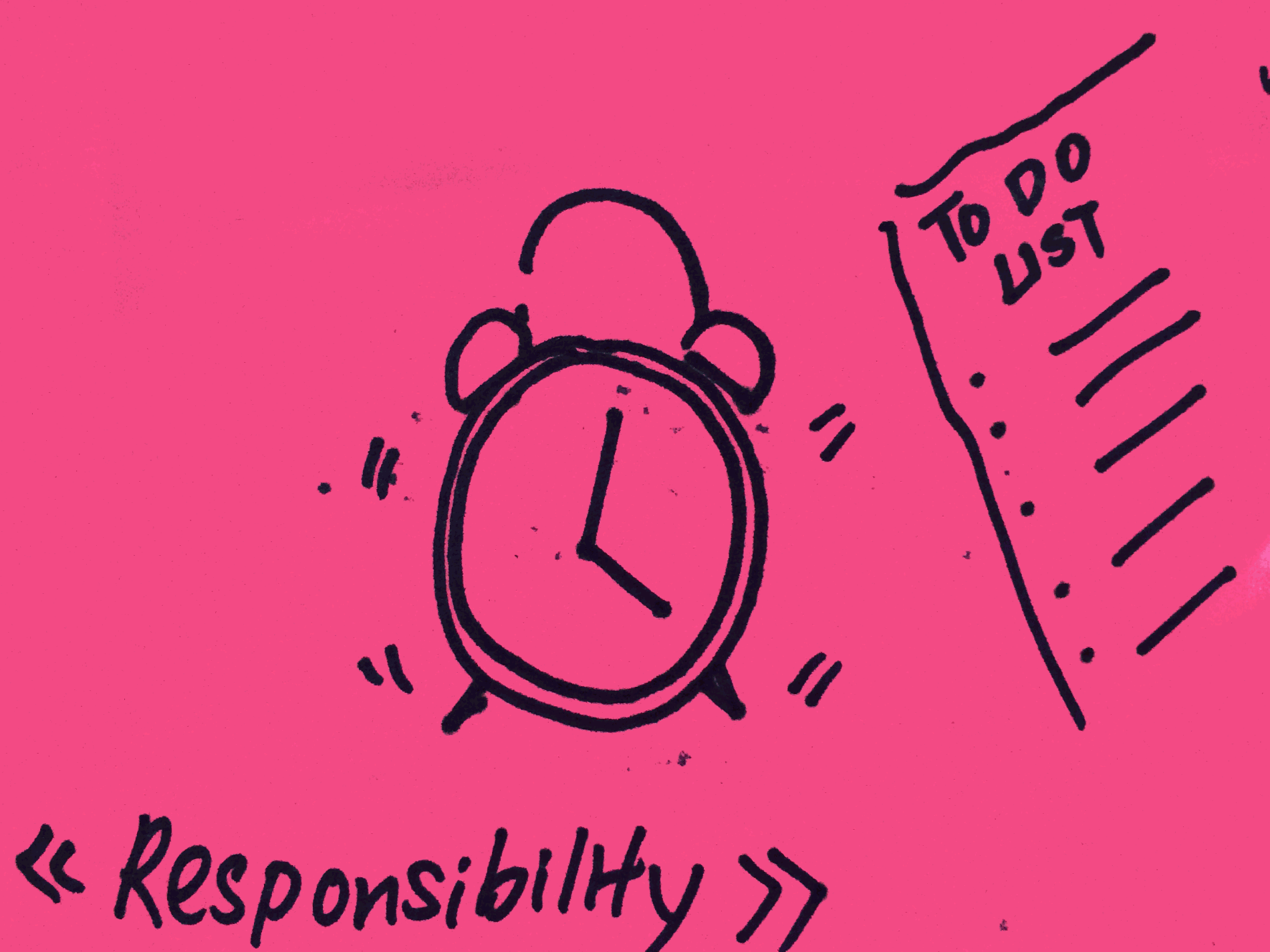 Responsibility Strengthsfinder Alarm Clock Punctual To Do List