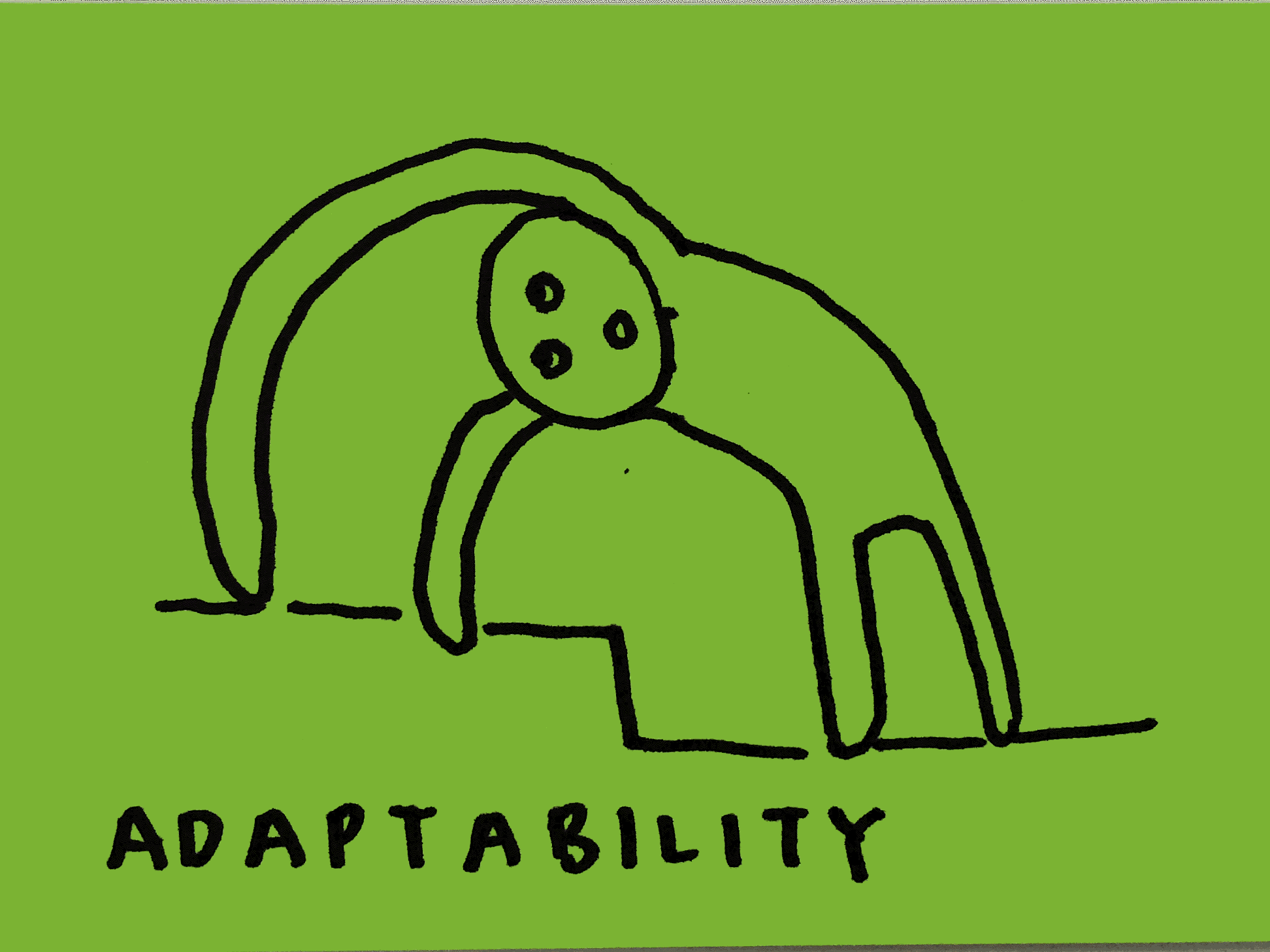 Adaptability Strengthsfinder Stretching on Steps