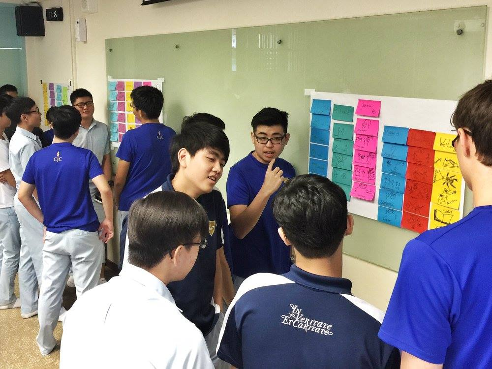 Strengthsfinder Singapore Strengths School Art Wall Catholic Junior College Student Workshop