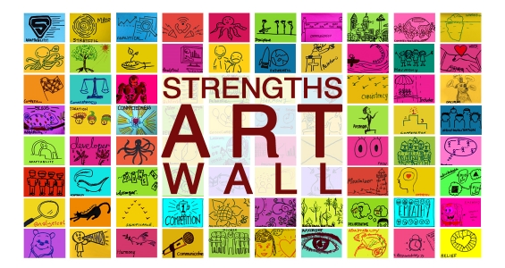 Strengthsfinder Singapore Strengths School Strengths Art Wall