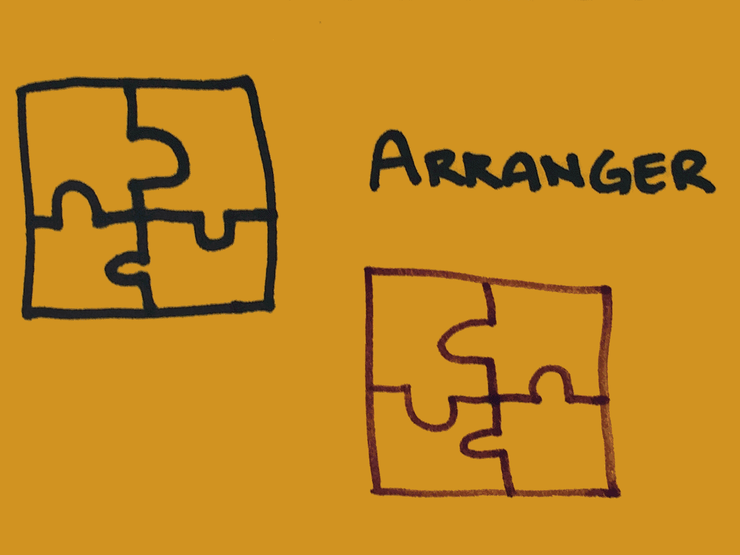 Arranger Strengthsfinder Puzzle Pieces