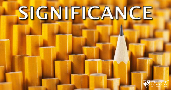 Significance Strengthsfinder Singapore Strengths School
