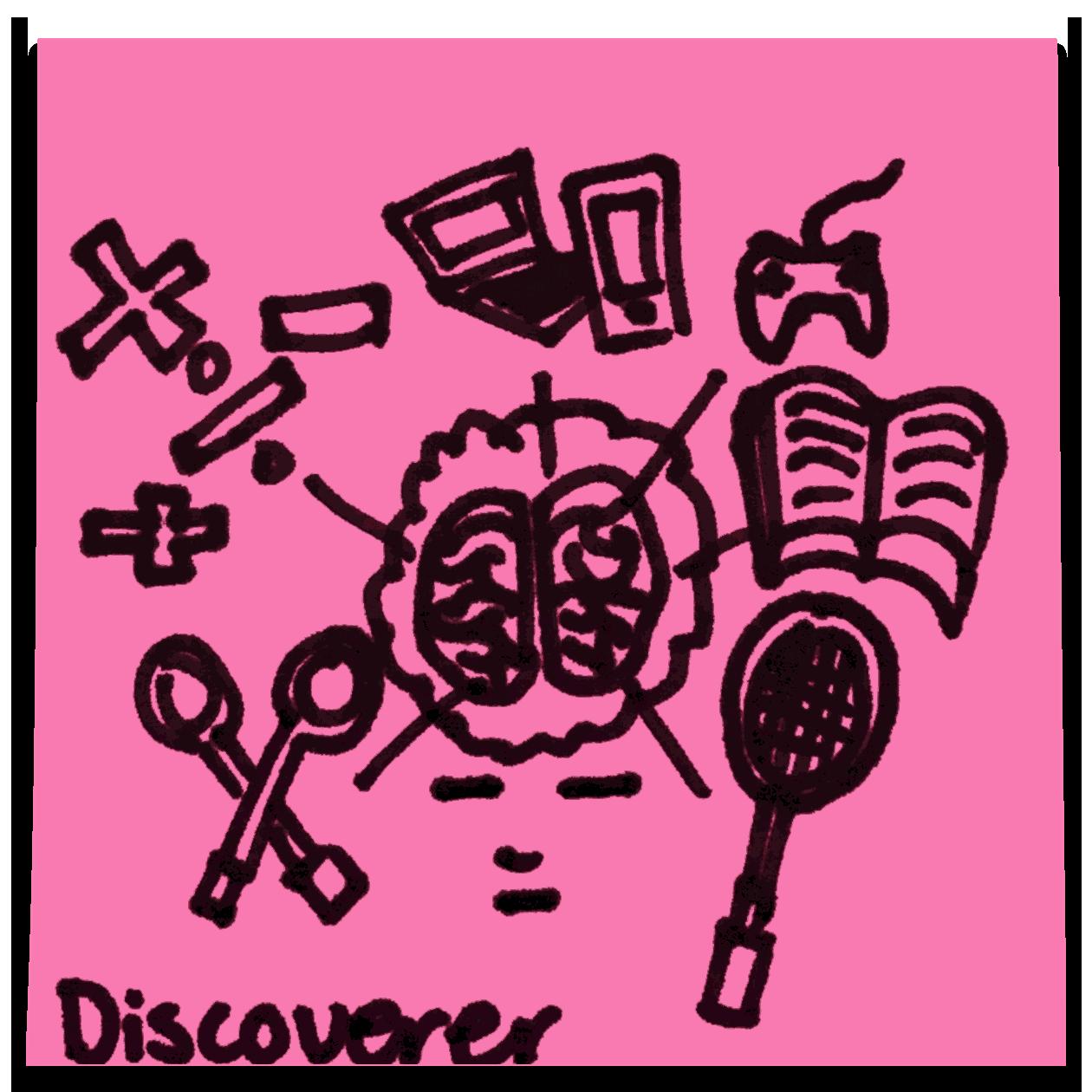 Discoverer StrengthsExplorer Talent Theme