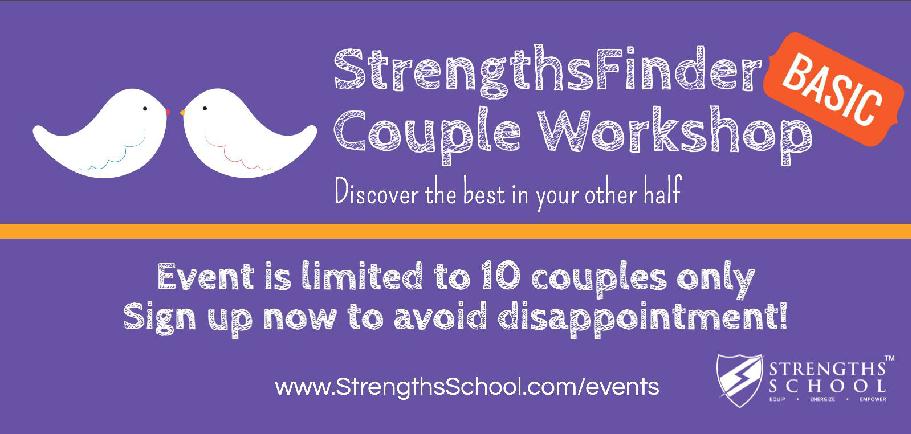 StrengthsFinder Couple Workshop Banner