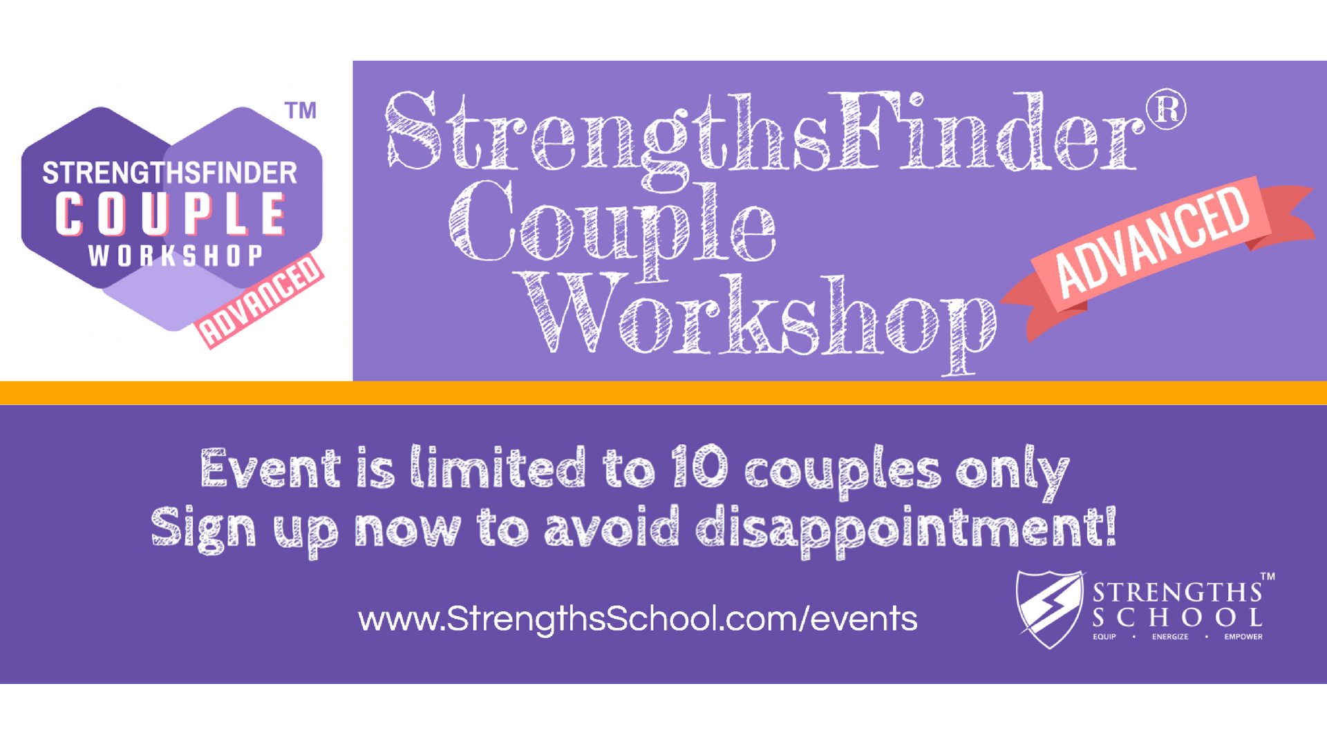 StrengthsFinder Couple Workshop - Advanced  Banner-2