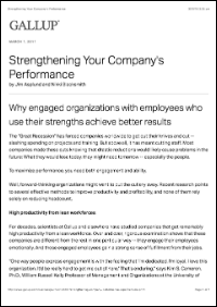 Strengthening Your Company's Performance (Gallup, Inc.)