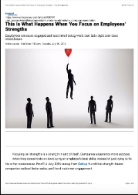 This Is What Happens When You Focus on Employee's Strengths (Andre Lavoie)