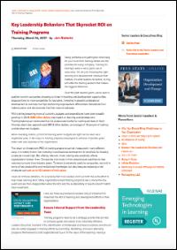Key Leadership Behaviors That Skyrocket ROI on Training Programs (Jen Roberts)