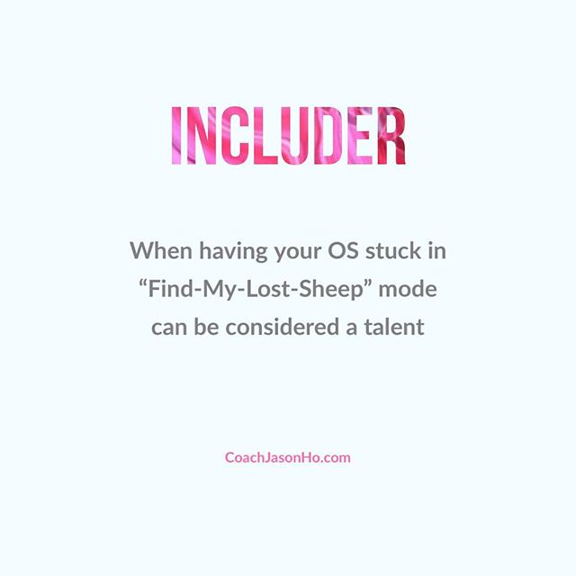 """[#CliftonStrengths] #StrengthsFinder #Includer #StrengthsFinderFun • • This is my number 28. Here's to all the shepherds in the world! • • • • """"Creating the most Advanced StrengthsFinder Leadership Workshop Program in the world"""" • • #GallupStrengthsFinder #StrengthsQuest #StrengthsSchool #Gallup #StrengthsFinderSG #HumanResource #SelfImprovement #SelfDevelopment #TeamBuilding #StrengthsCoach #Leadership #ProfessionalDevelopment #StrengthsFinderCoach #CoachJasonHo Jason Ho • SouthEast Asia & Singapore's 1st Gallup Certified StrengthsFinder  Coach • Strengths School™ Singapore"""