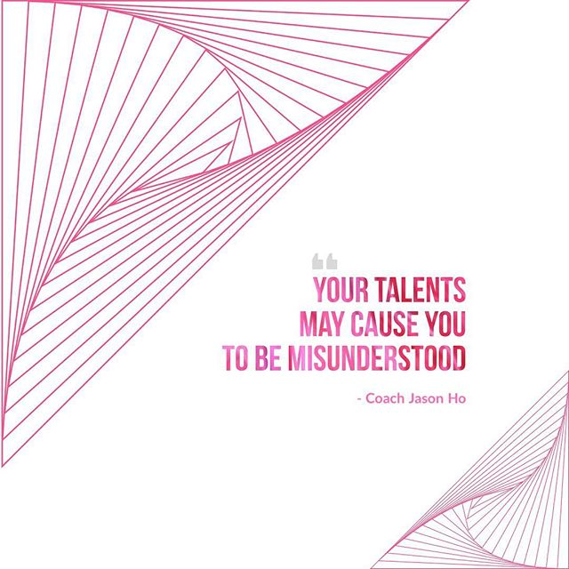 """[#CliftonStrengths] #StrengthsFinder #StrengthsFinderFun • • Your talents may cause you to be misunderstood. With this series, I hope to help you understand how those talents get expressed in quirky ways in our lives • • #StrengthsfinderQuotes • • """"Creating the most Advanced StrengthsFinder Leadership Workshop Program in the world"""" • • #GallupStrengthsFinder #StrengthsQuest #StrengthsSchool #Gallup #StrengthsFinderSG #HumanResource #SelfImprovement #SelfDevelopment #TeamBuilding #StrengthsCoach #Leadership #ProfessionalDevelopment #StrengthsFinderCoach #CoachJasonHo Jason Ho • SouthEast Asia & Singapore's 1st Gallup Certified StrengthsFinder  Coach • Strengths School™ Singapore"""