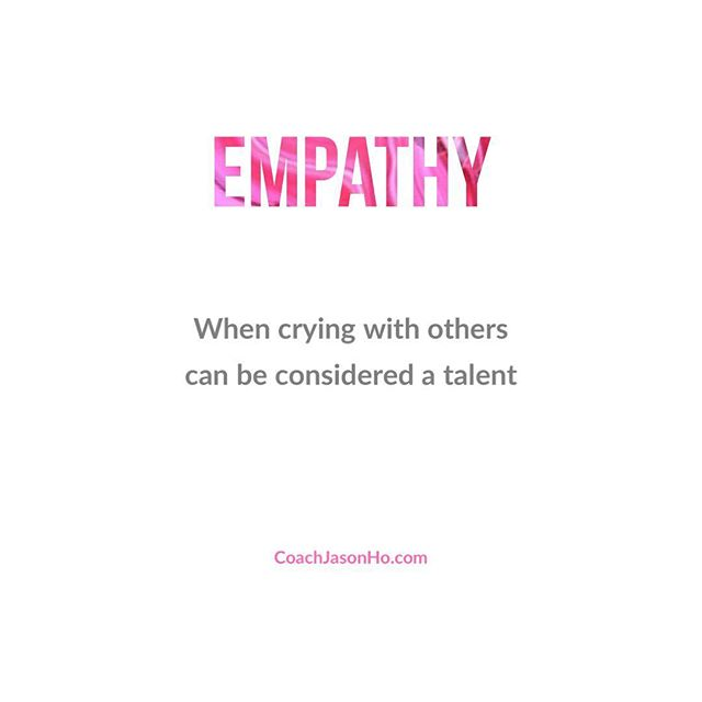 """[#CliftonStrengths] #StrengthsFinder #empathy #StrengthsFinderFun • • This is my number 34. When others cry. The only right thing to do is to cry along. • • • • """"Creating the most Advanced StrengthsFinder Leadership Workshop Program in the world"""" • • #GallupStrengthsFinder #StrengthsQuest #StrengthsSchool #Gallup #StrengthsFinderSG #HumanResource #SelfImprovement #SelfDevelopment #TeamBuilding #StrengthsCoach #Leadership #ProfessionalDevelopment #StrengthsFinderCoach #CoachJasonHo Jason Ho • SouthEast Asia & Singapore's 1st Gallup Certified StrengthsFinder  Coach • Strengths School™ Singapore"""