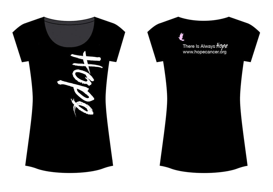 Black Womens Vintage Scoopneck T-Shirt