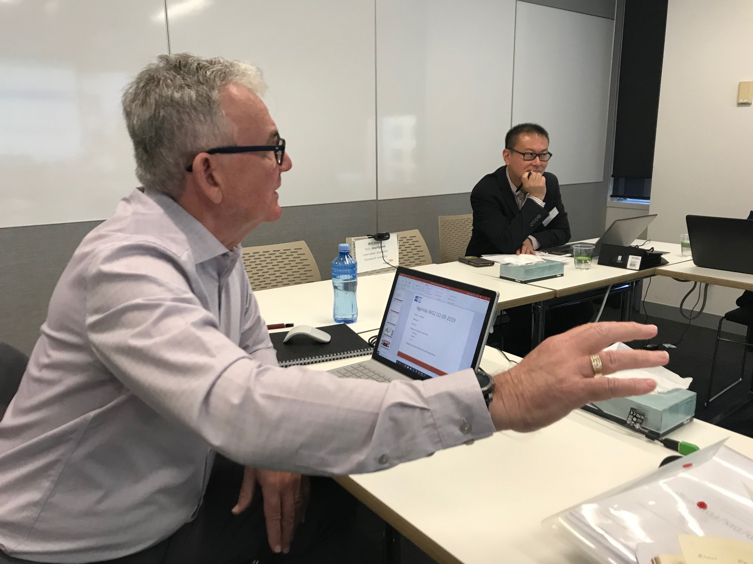 ISO TC260 Metrics Committee - hosted by Standards Australia in Sydney