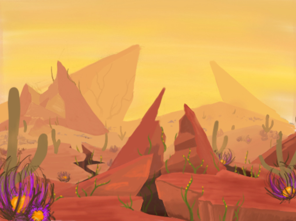 The Canyon biome of Far Away.