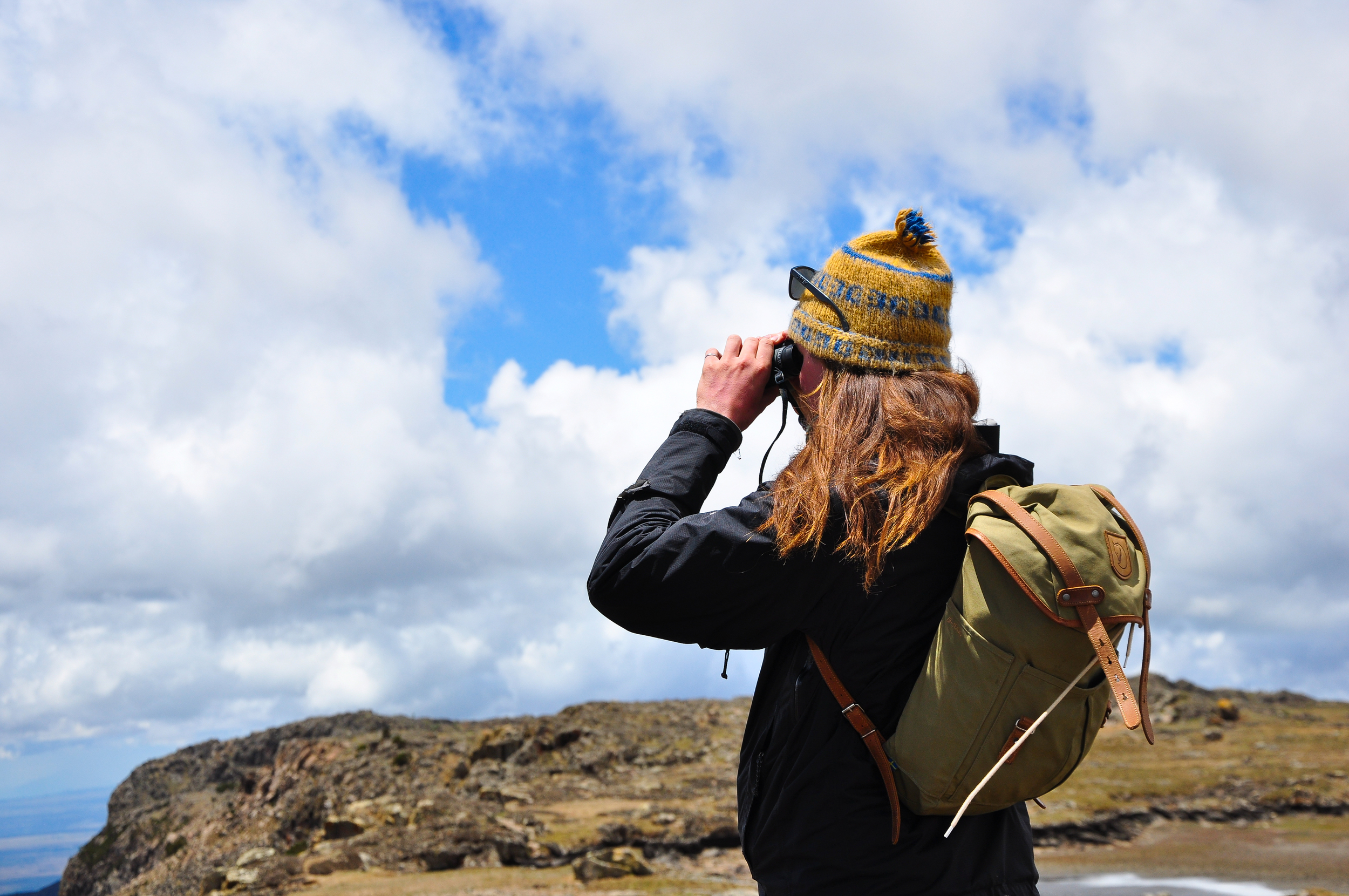 Adventure waits, just around the bend - Sanetti Plateau, Bale Mountains, Ethiopia