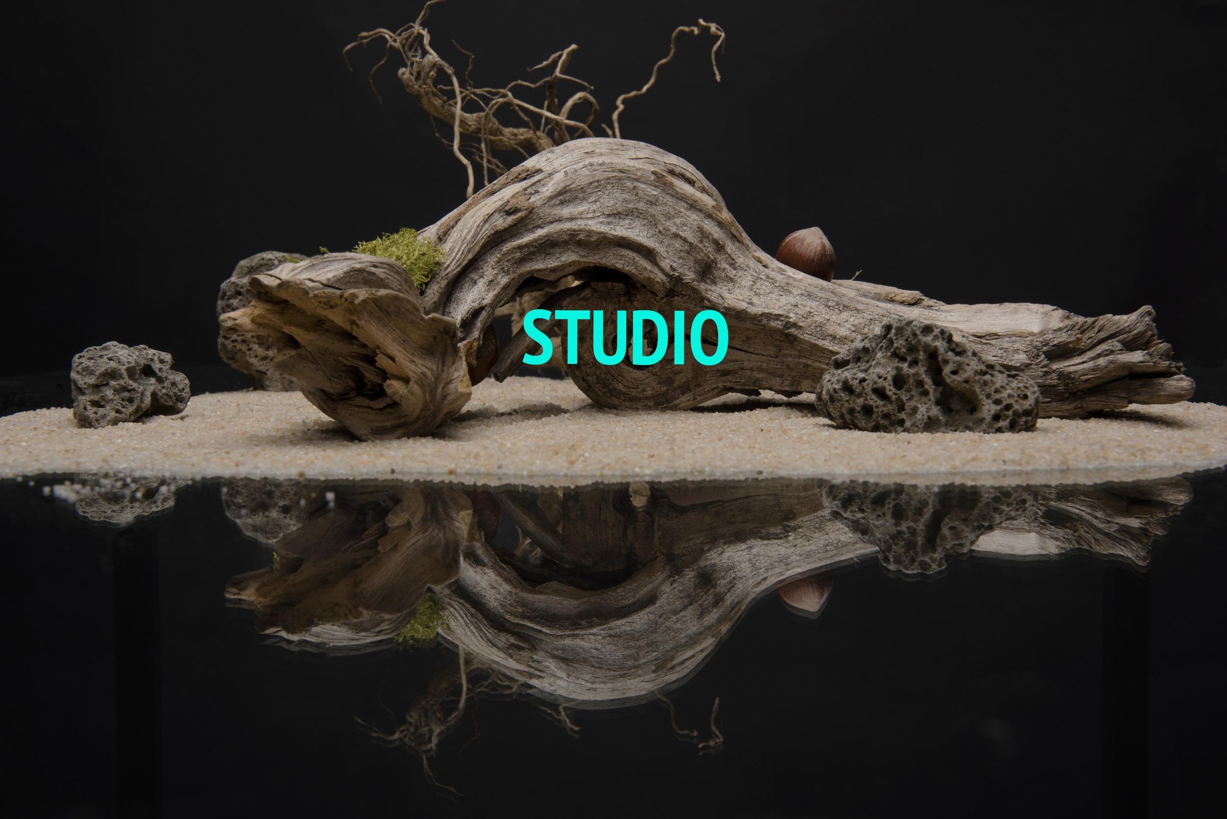 Studio still life shooting