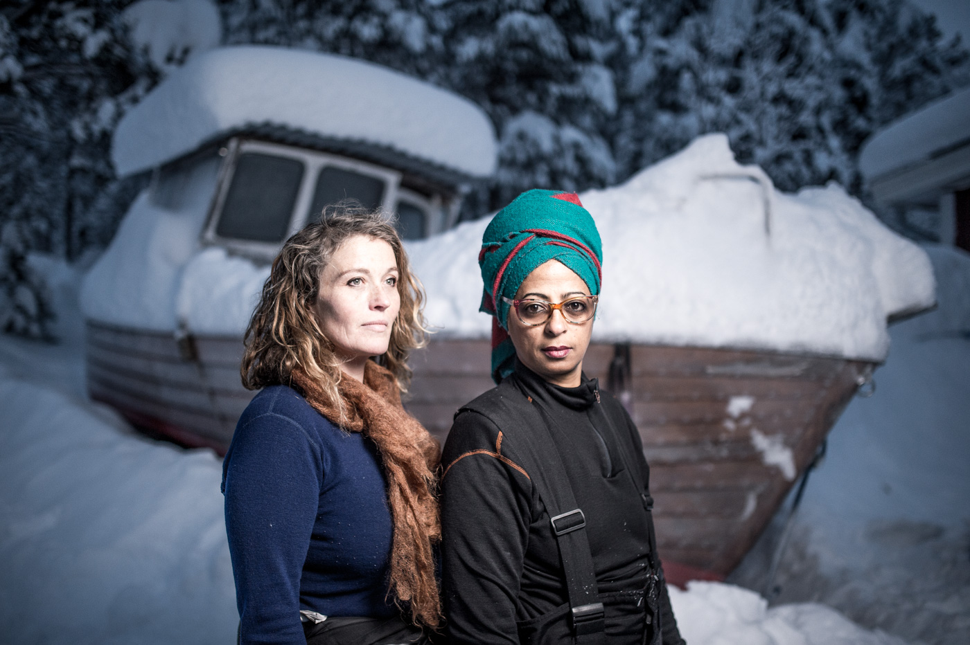 Art suite -Daily Travellers-Alem Teklu & Anne Karin Krogeveoll-, ICEHOTEL 28  Photo by - Asaf Kliger (1 of 1)-2.jpg