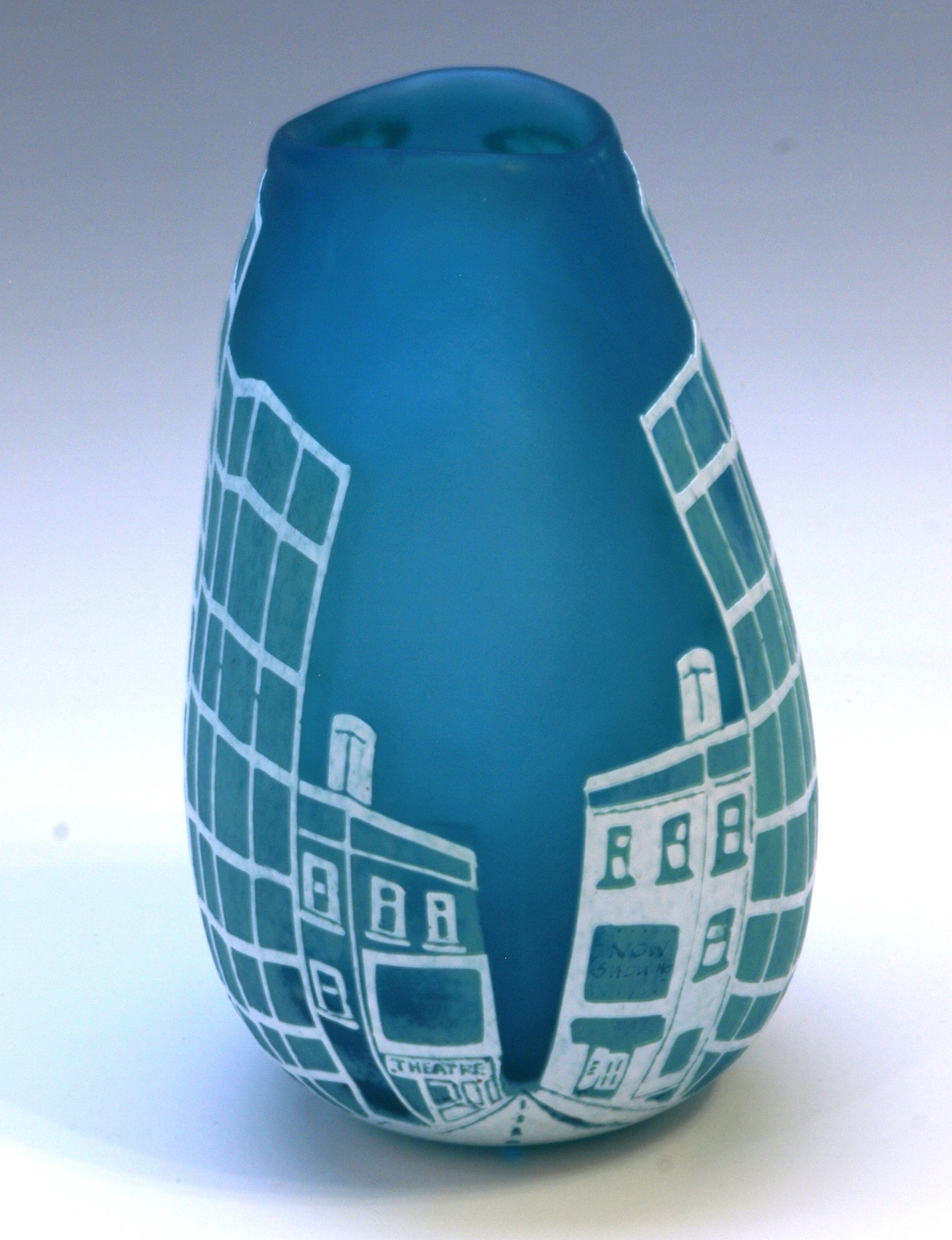 Skyscraper Vase - Side view, 2014