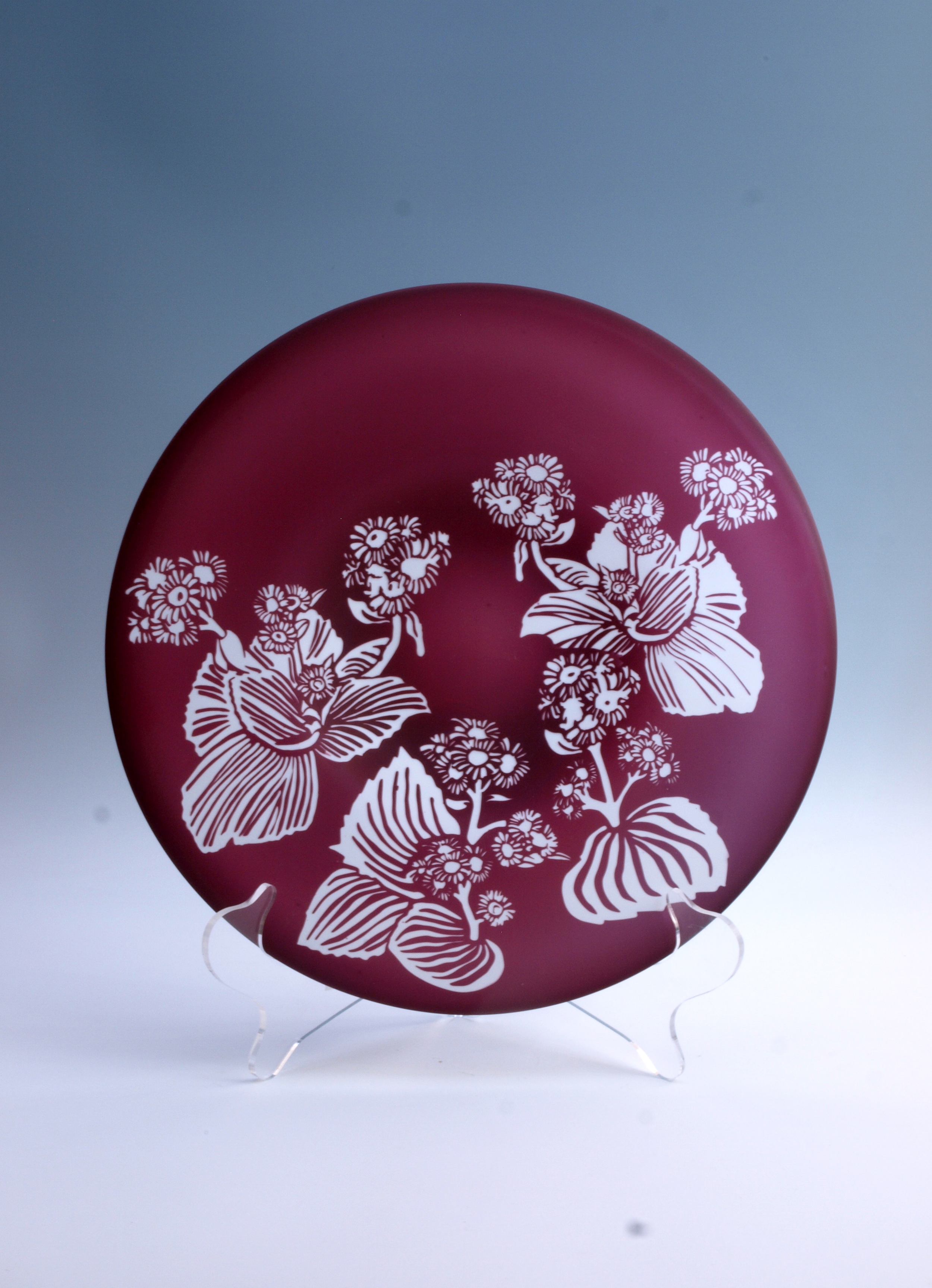 Campbell Island Daisy Picture Plate
