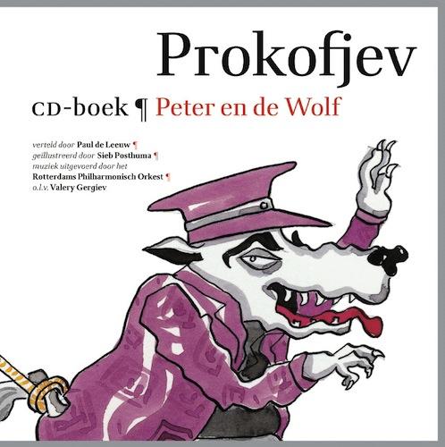 CD-boek Peter en de Wolf