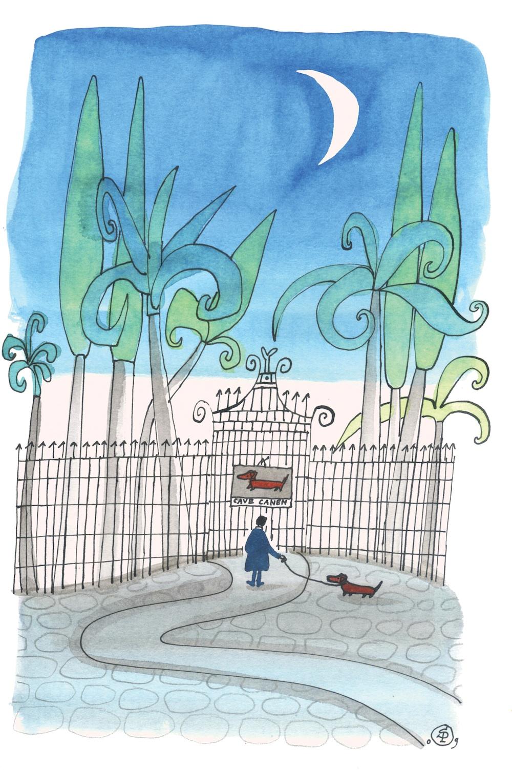 Illustration Sieb Posthuma