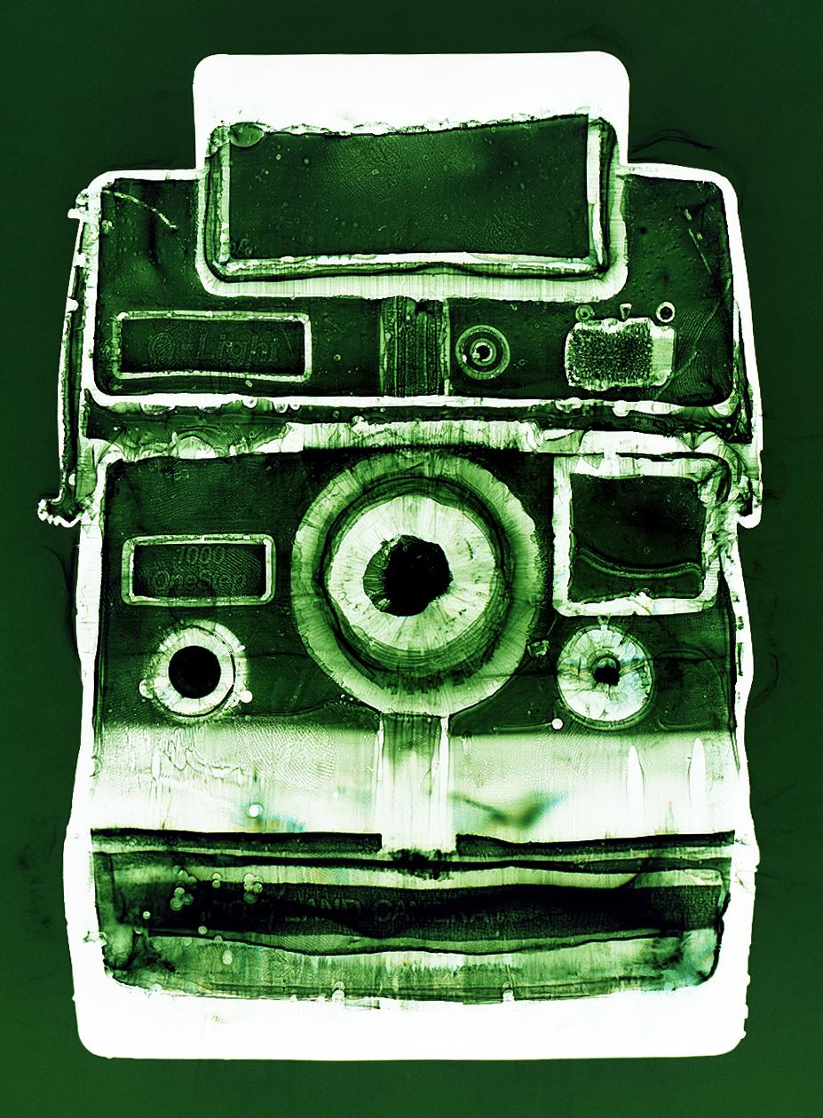Polaroid (green), Penelope Davis,2003, type c print, 125x94cm