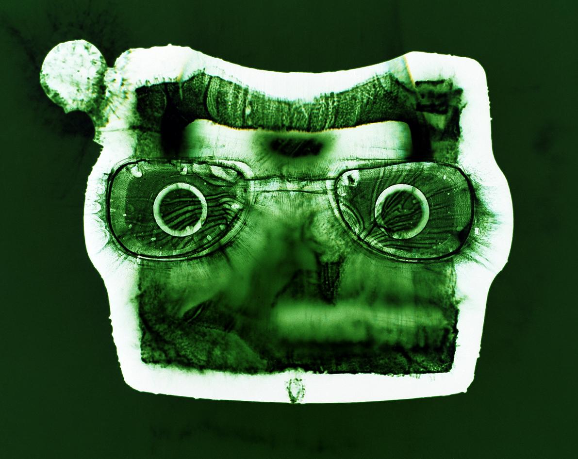 Viewmaster (green), Penelope Davis,2003, type c print, 76x102cm