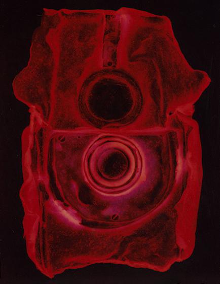 Blueprint (red), Penelope Davis,  2008, type c print, 150x120cm