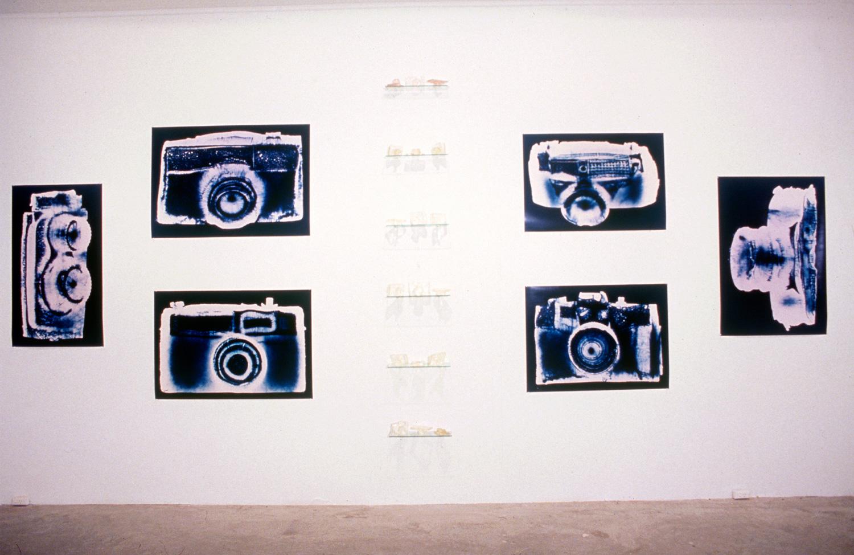 Installation detail,Penelope Davis,Australian Centre for Photography, 1997