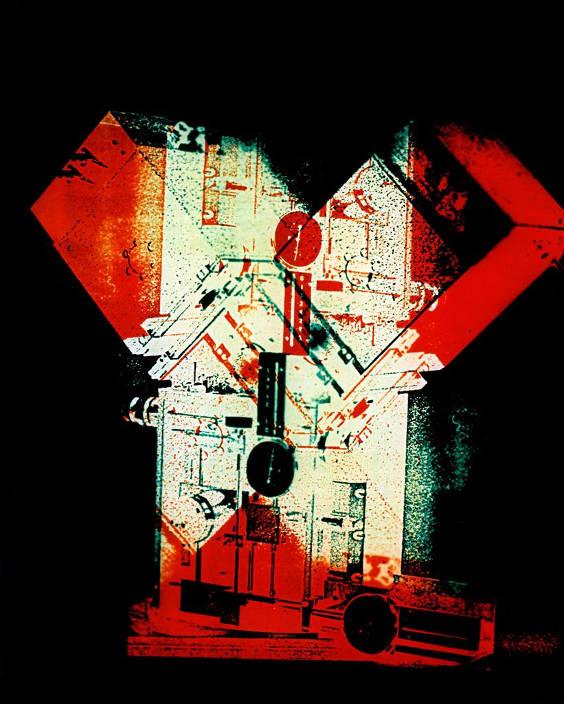 Photomachine No.2 , Penelope Davis,1997, type c photograph, 100x76cm