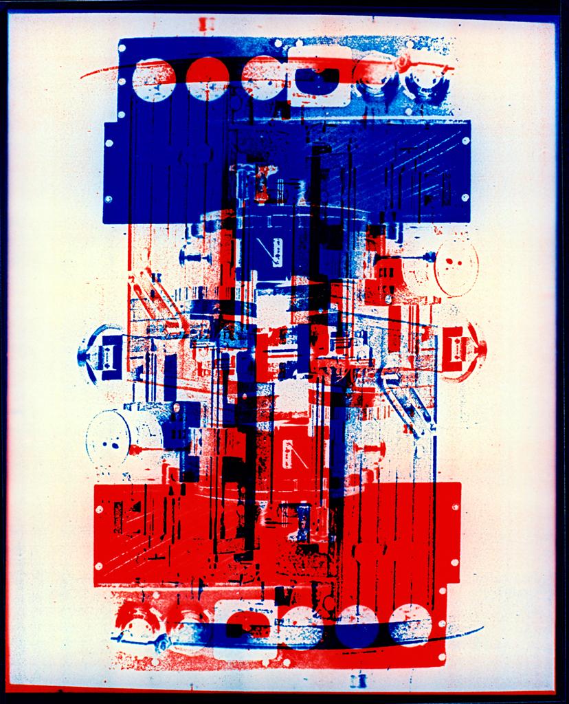 Photomachine No.3 , Penelope Davis,1997, type c photograph, 100x97cm