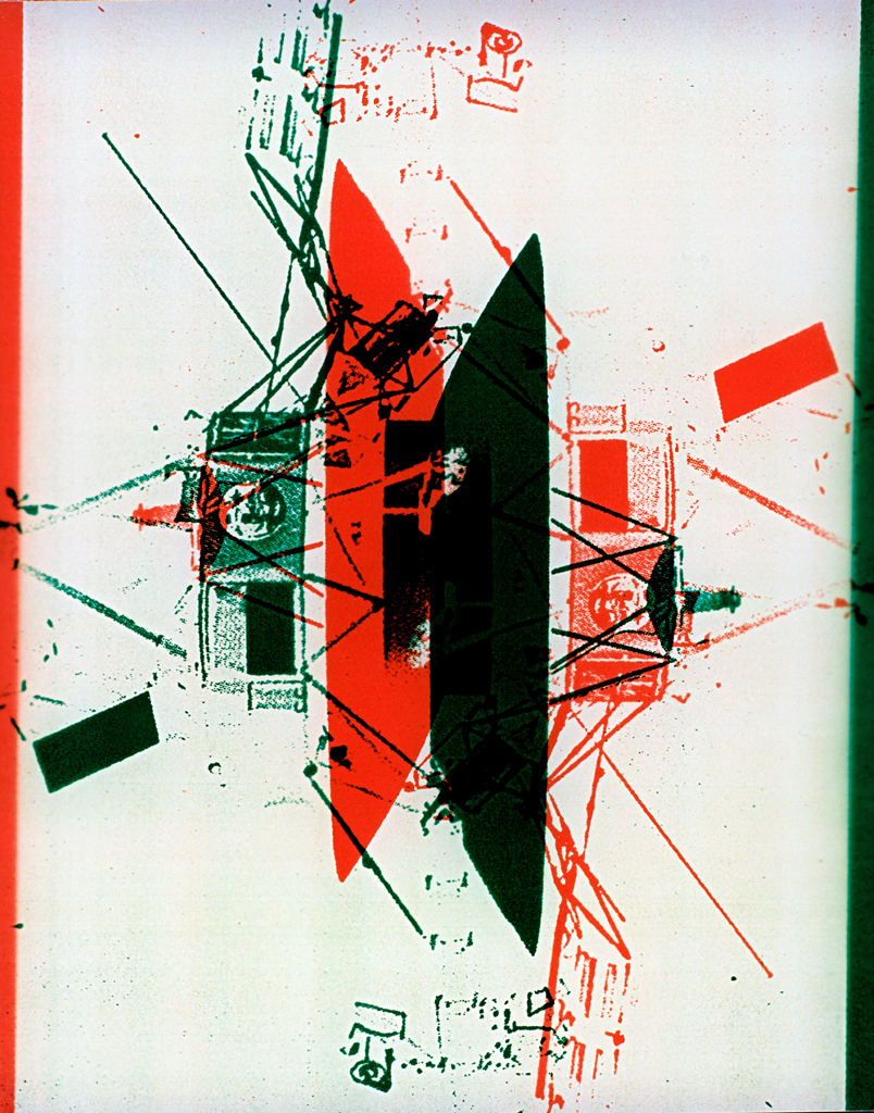 Photomachine No.6 , Penelope Davis,1997, type c print,100x76 cms
