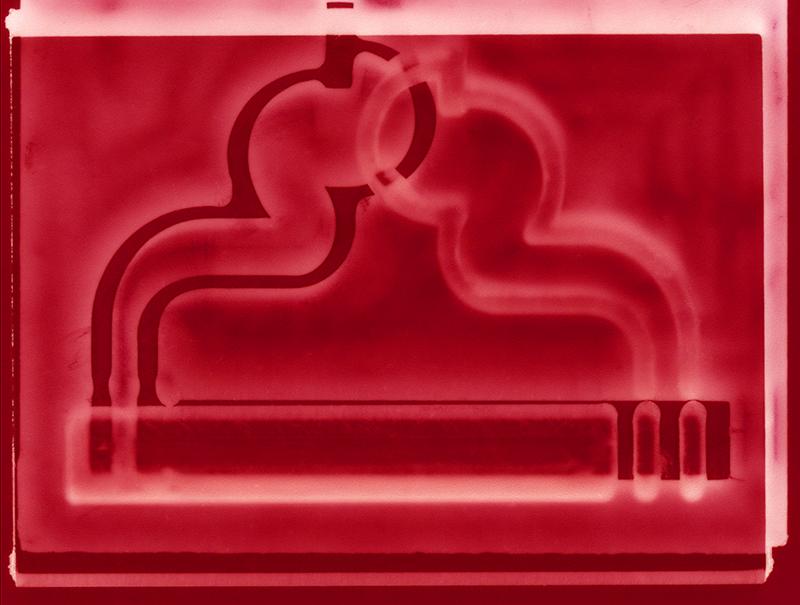 Smokestack  2017,Ilford metallic photographic print, 30x40cm
