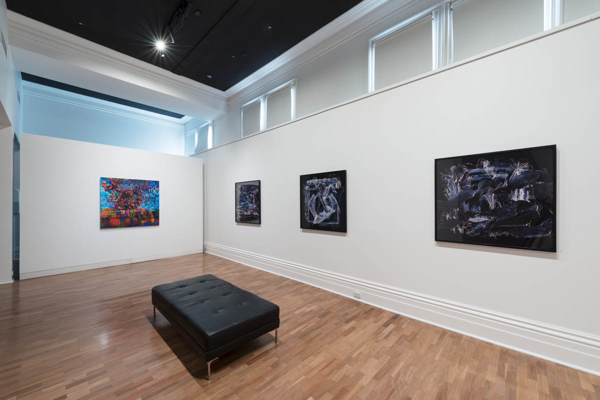 Reverse Photography  2017, installation view, The Gallery, St Kilda Town Hall, photography by Simon Strong