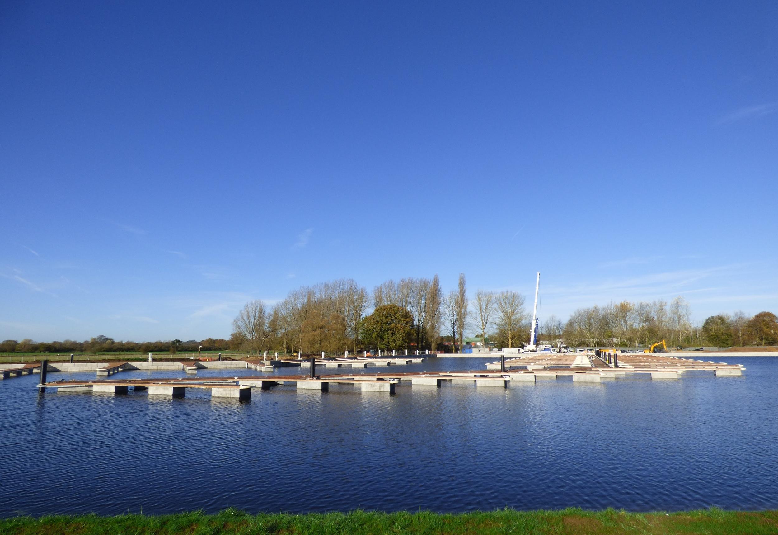 white_mills_marina_floating_pontoons_river_nen