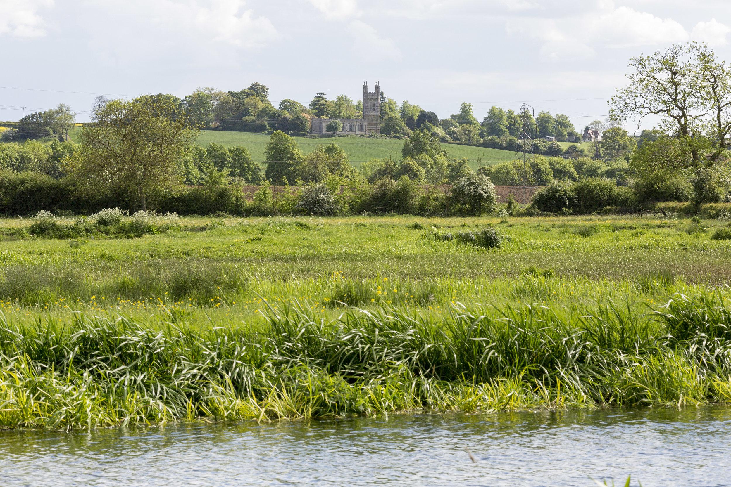 White_Mills_Marina_River_Nene_whiston_church