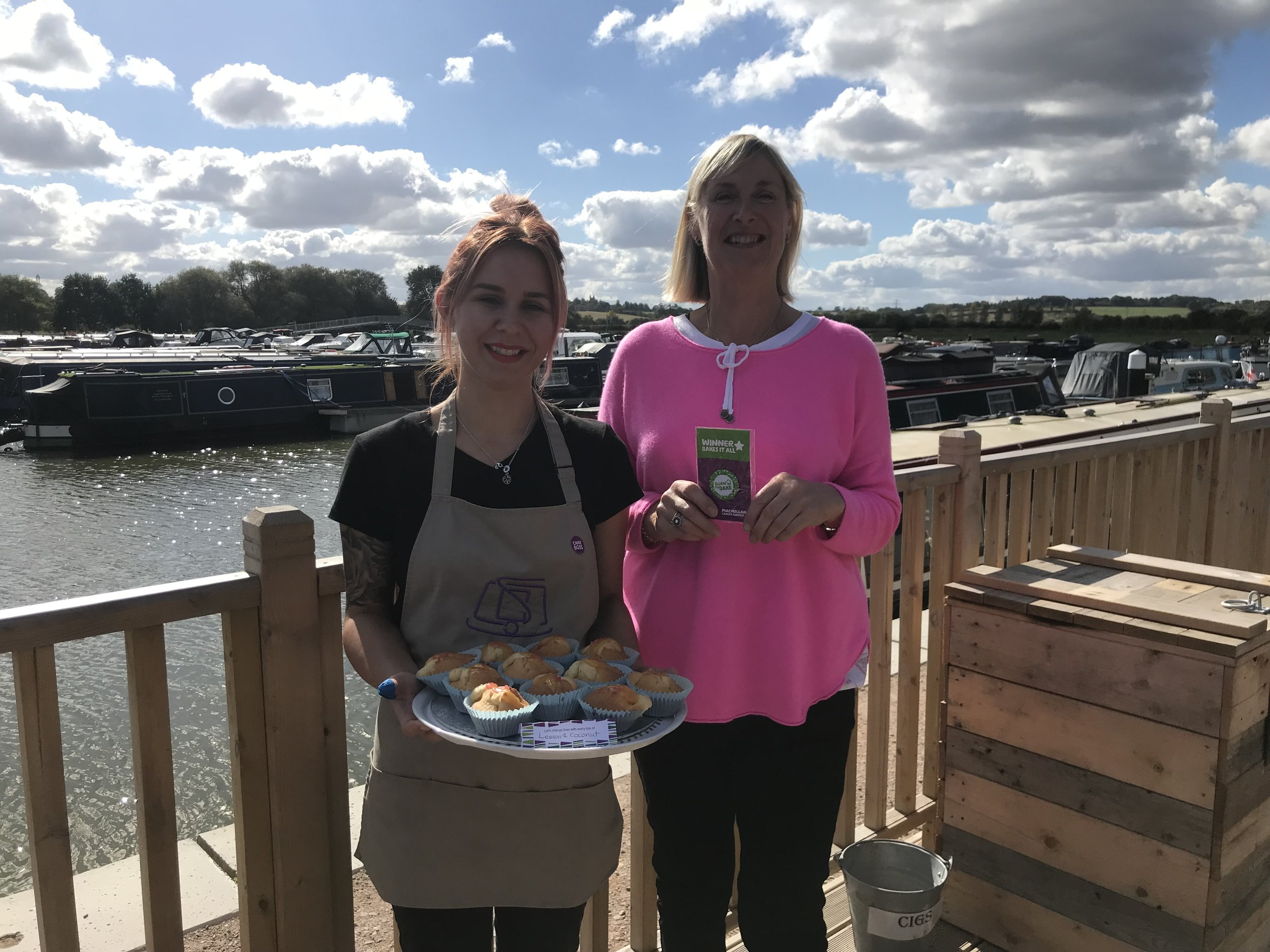 macmillan_coffee_morning_whitemills_marina_river_nene_winning_buns