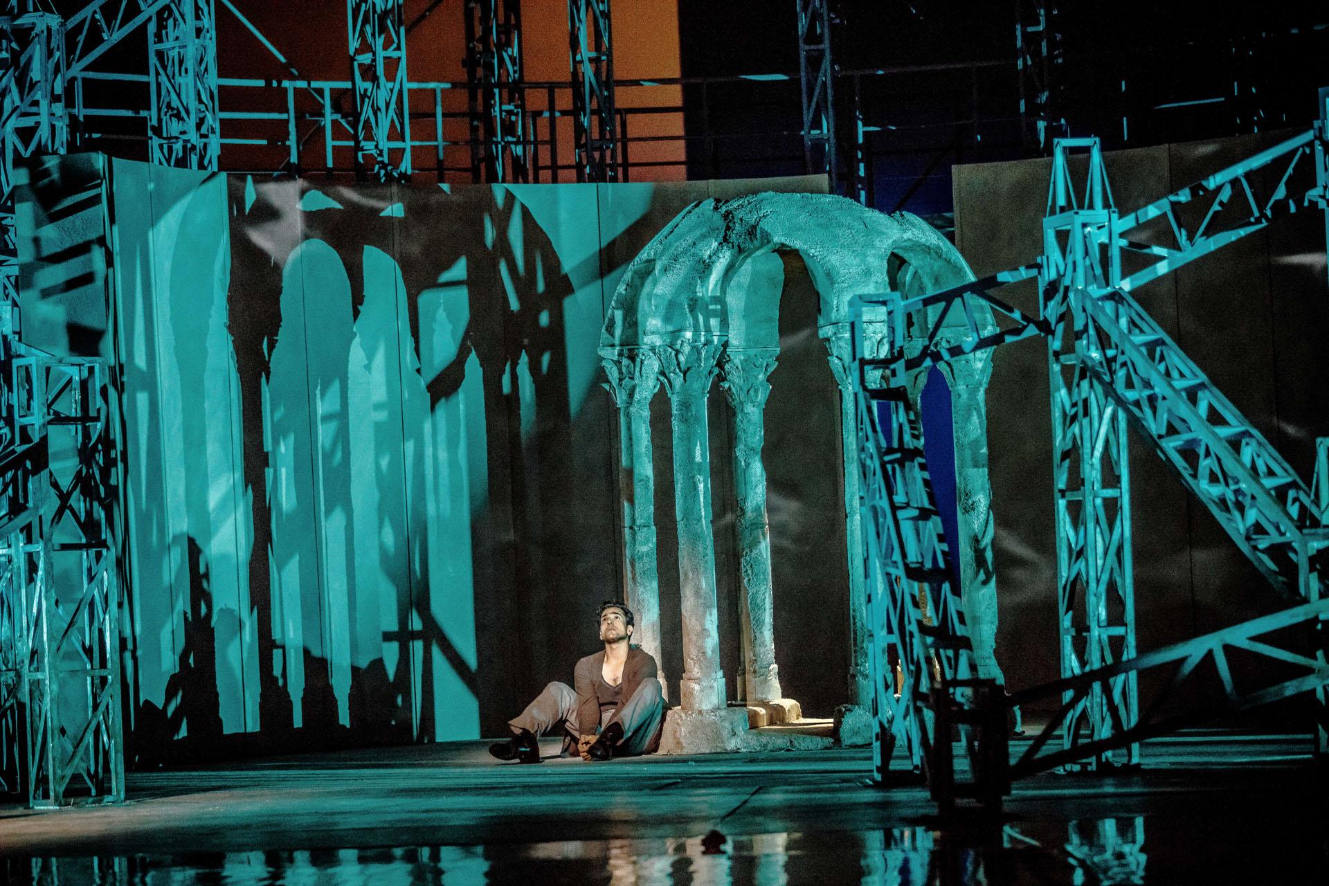 Leonardo Capalbo in a scene from  Carmen