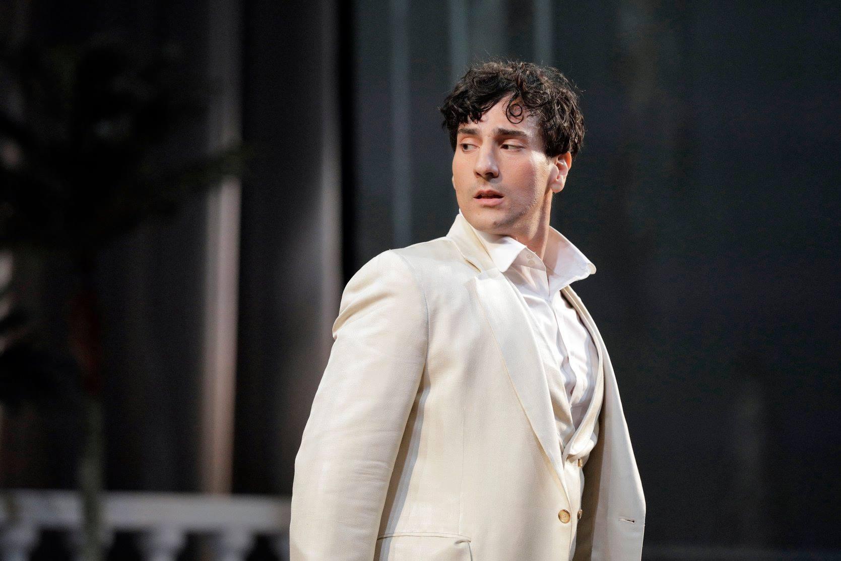 Leonardo Capalbo as Ruggero in Puccini's  La rondine
