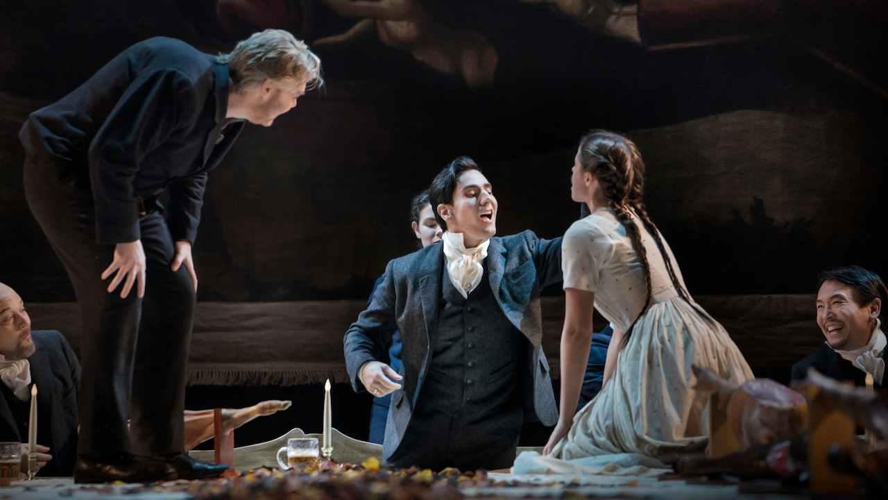Leonardo Capalbo as the Duke in Verdi's  Rigoletto