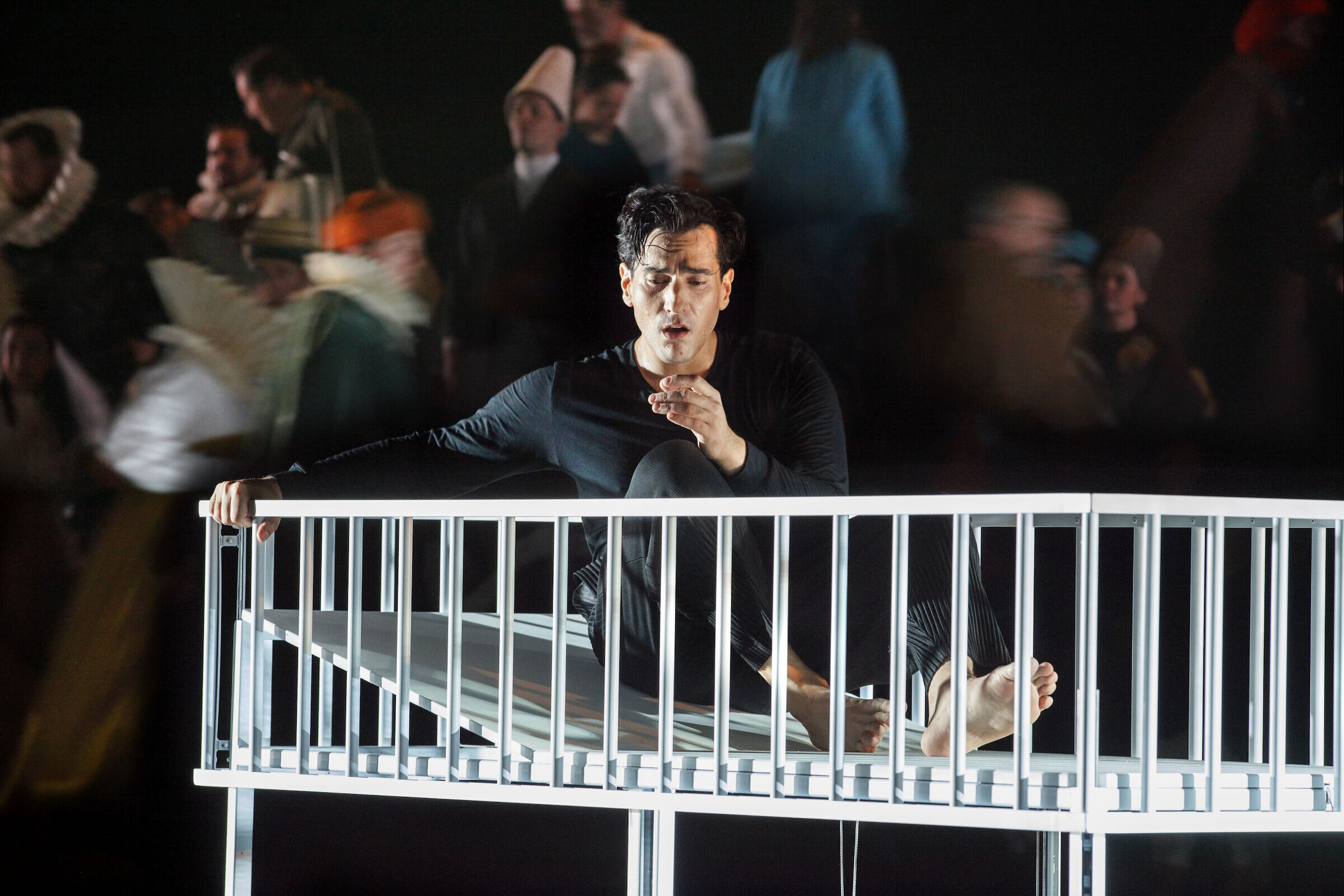 Leonardo Capalbo as Don Carlos. photo by Annemie Augustijns