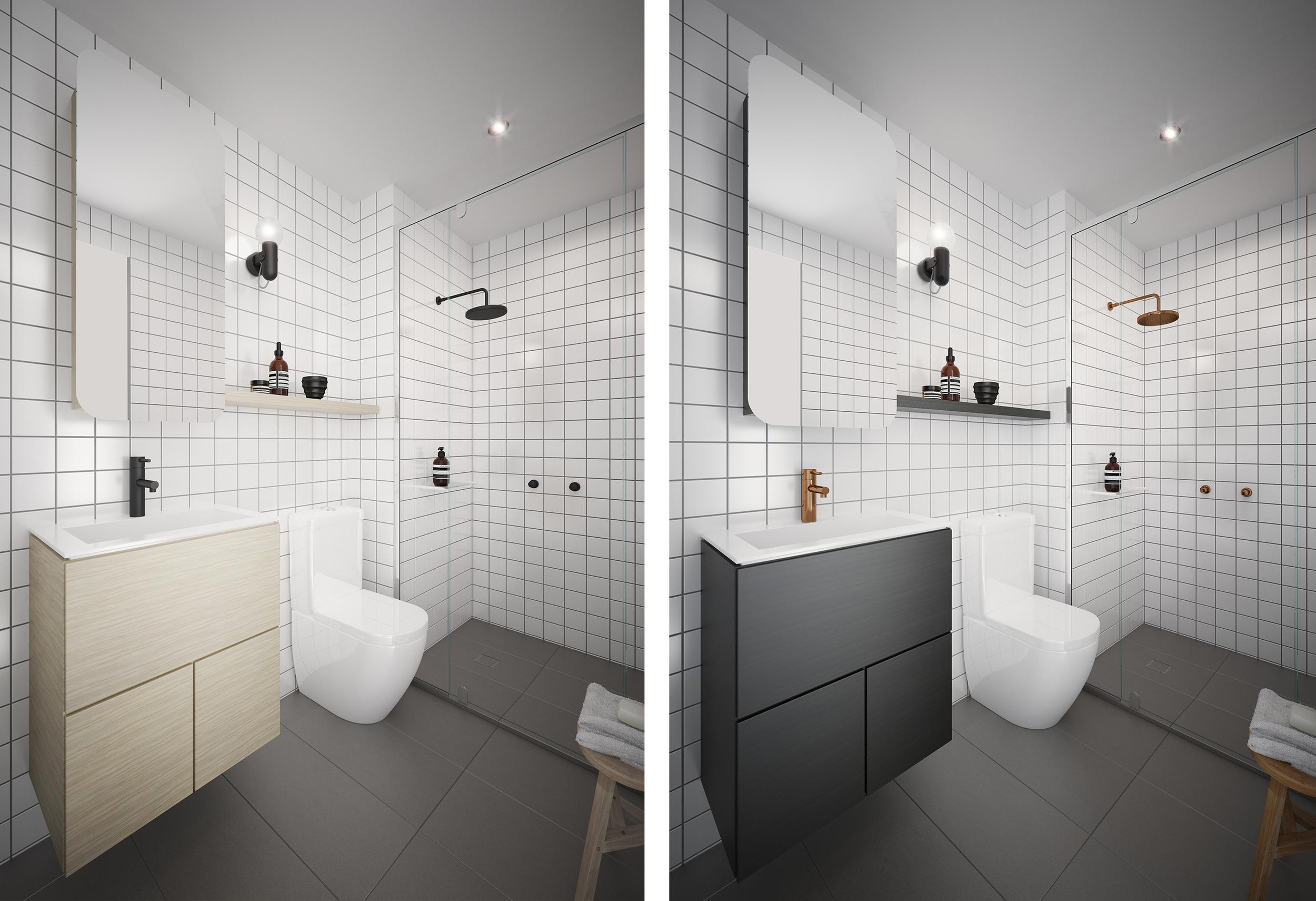 Bathroom design by Chamberlain Architects